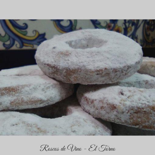 Dulces de Convento. Roscos de Vino Detalle