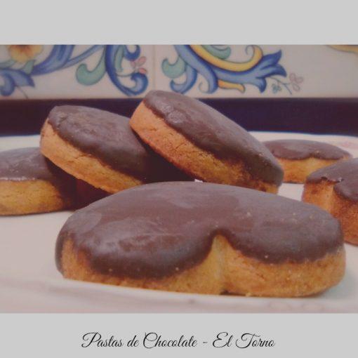 Pastas de Chocolate Conjunto. Dulces de Convento
