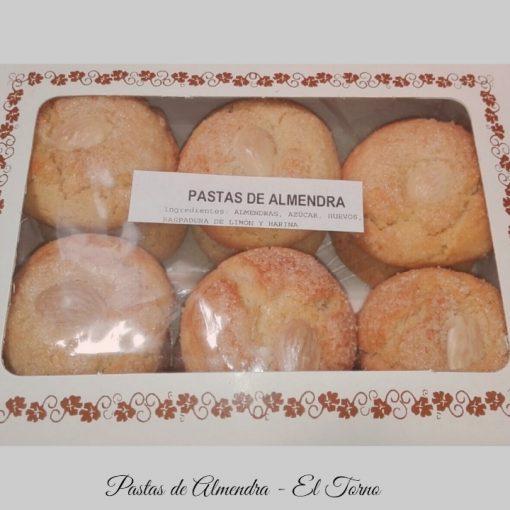 Pastas de Almendra Artesanas Caja