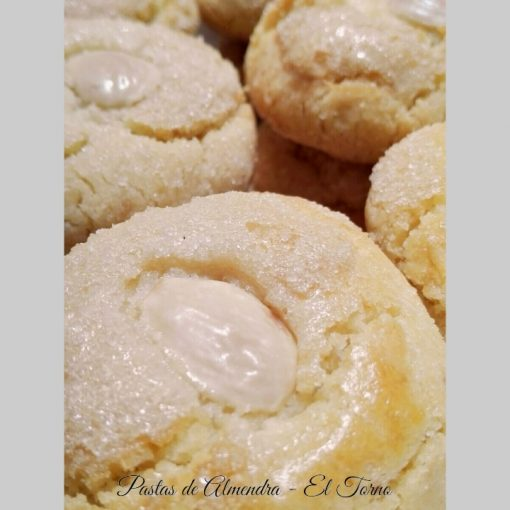 Pastas de Almendra Artesanas Detalle