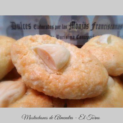 Mostachones de Almendra Principal. Dulces de Convento