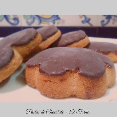 Pastas de Chocolate Principal. Dulces de Convento