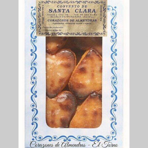 Dulces de Convento. Corazones de Almendras Caja