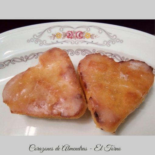 Dulces de Convento. Corazones de Almendras Conjunto