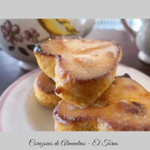Dulces de Convento. Corazones de Almendras Detalle