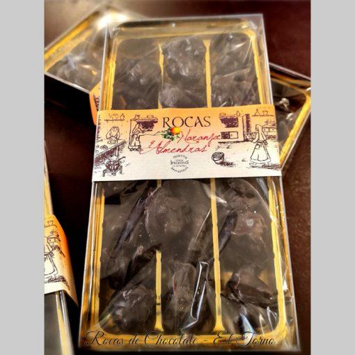 Rocas de Chocolate Caja