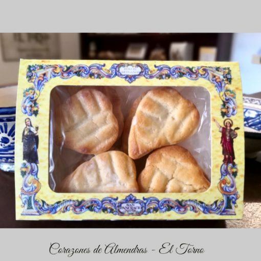Corazones Pastelería Sevilla Caja