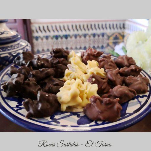 Rocas Surtidas de Chocolate Conjunto
