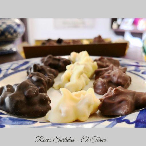 Rocas Surtidas de Chocolate Detalle